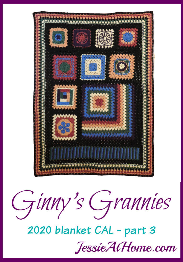 Around and Around – Ginny's Grannies CAL Part 3