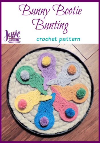 Bunny Booty Bunting crochet pattern by Jessie At Home - Pin 3