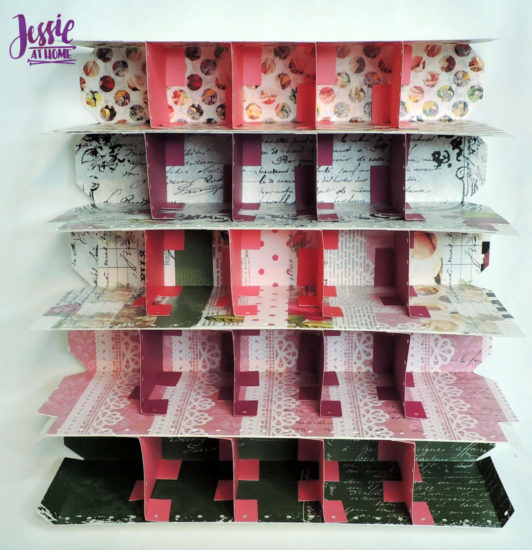 Crochet Hook Organizer - Cricut tutorial by Jessie At Home - Step 3