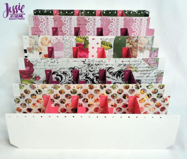 Crochet Hook Organizer - Cricut tutorial by Jessie At Home - Step 4