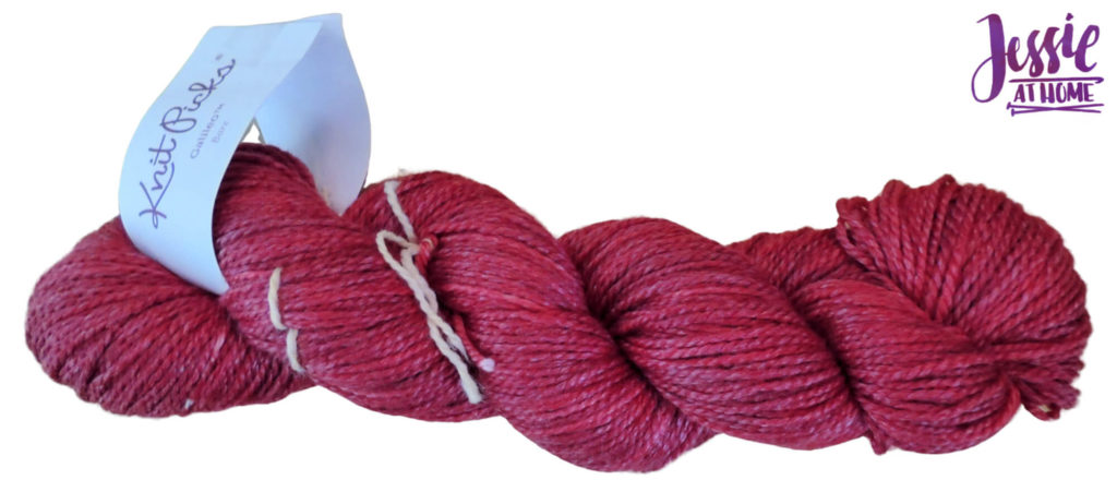 Dyeing Yarn with Jessie At Home - Protein Yarn and Acid Dye - Galileo - Fire Red Solid - Done