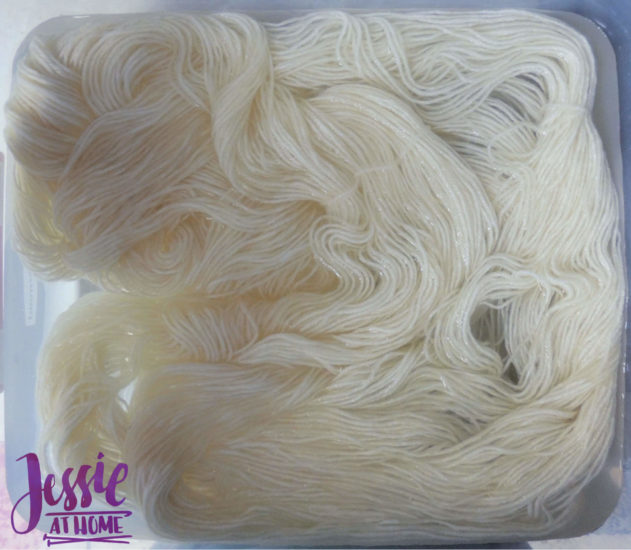 Dyeing Yarn with Jessie At Home - Protein Yarn and Acid Dye - Pre Soak Yarn