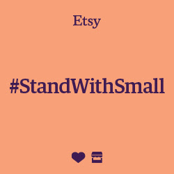 Etsy #StandWithSmall