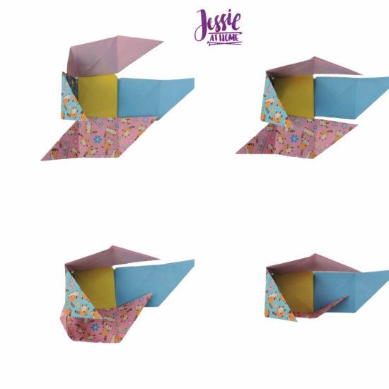 Oragami Modular Cube Tutorial by Jessie At Home - Step 10