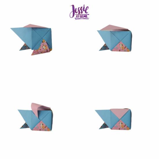 Oragami Modular Cube Tutorial by Jessie At Home - Step 11