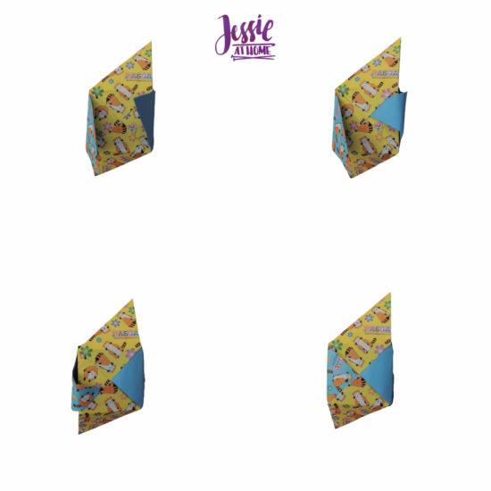 Oragami Modular Cube Tutorial by Jessie At Home - Step 12