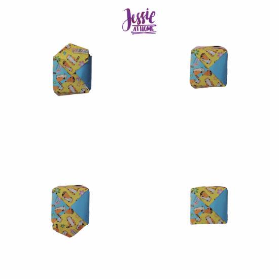 Oragami Modular Cube Tutorial by Jessie At Home - Step 13