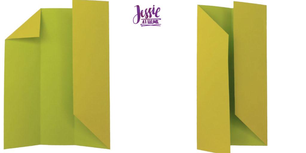Oragami Modular Cube Tutorial by Jessie At Home - Step 4