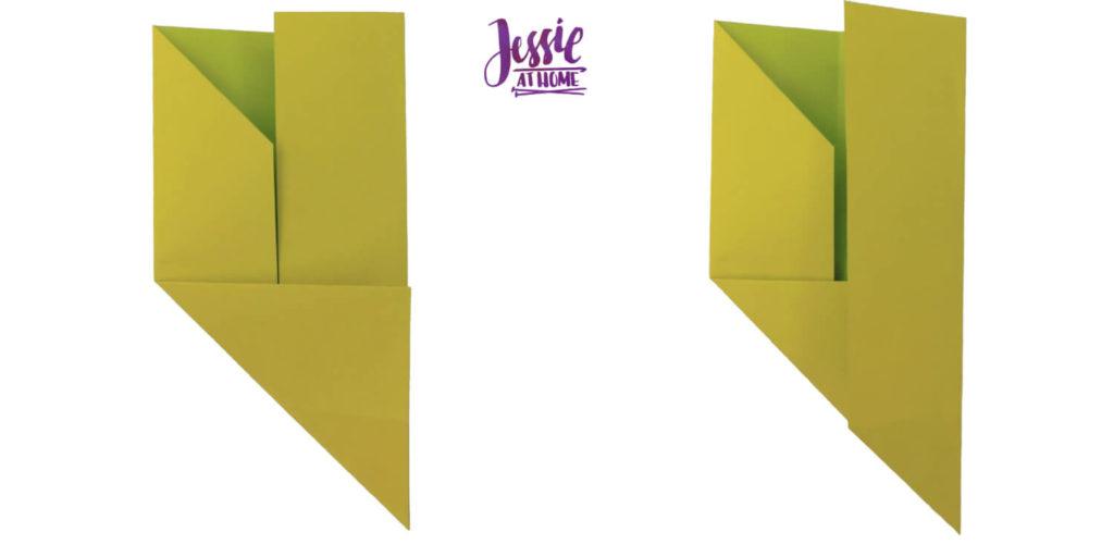 Oragami Modular Cube Tutorial by Jessie At Home - Step 5