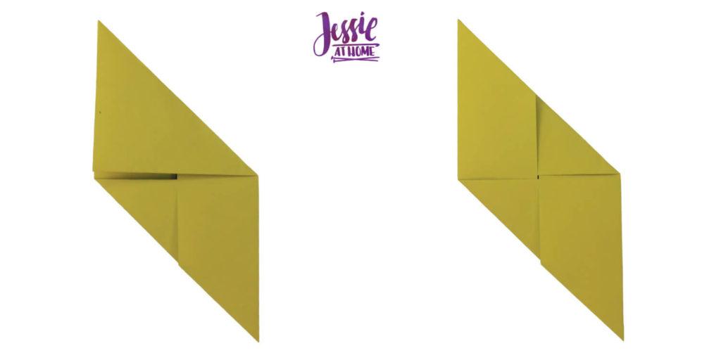 Oragami Modular Cube Tutorial by Jessie At Home - Step 6