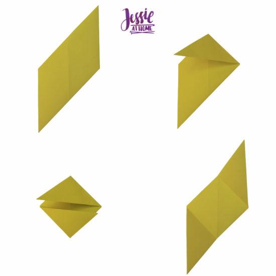 Oragami Modular Cube Tutorial by Jessie At Home - Step 7
