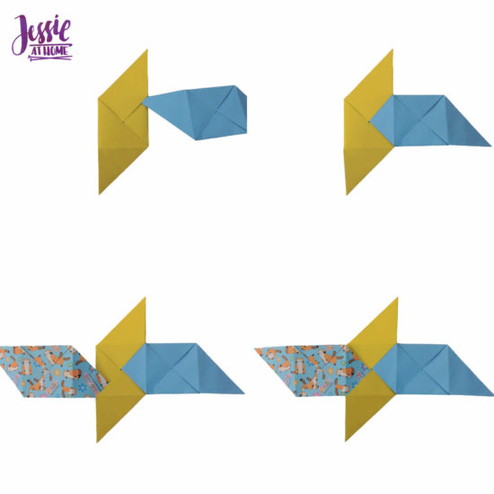 Oragami Modular Cube Tutorial by Jessie At Home - Step 8