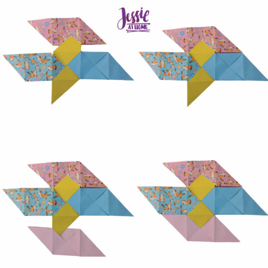 Oragami Modular Cube Tutorial by Jessie At Home - Step 9