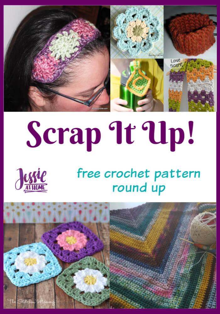 Scrap It Up! - free crochet patterns that use scrap yarn