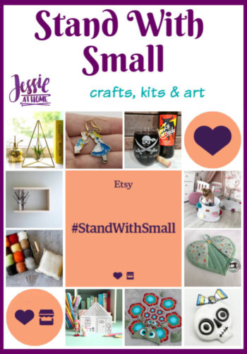 Stand With Small - ideas from Jessie At Home - Pin 1