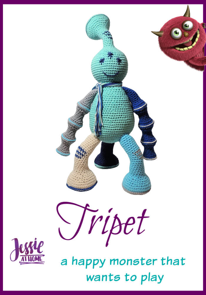 Tripet – a happy monster that wants to play