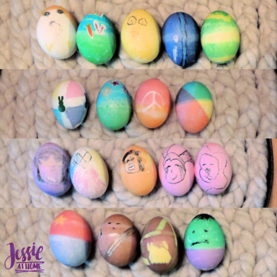Crafts Galore Selfie Sunday by Jessie At Home - Easter Eggs