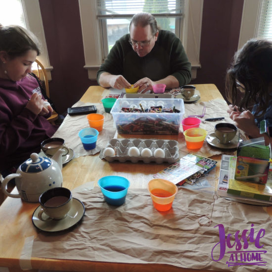 Crafts Galore Selfie Sunday by Jessie At Home - Painting Eggs