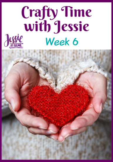 Crafty Time with Jessie At Home Week 6 - Pin 1