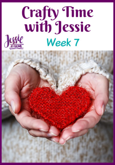 Crafty Time with Jessie At Home Week 7 - Pin 1