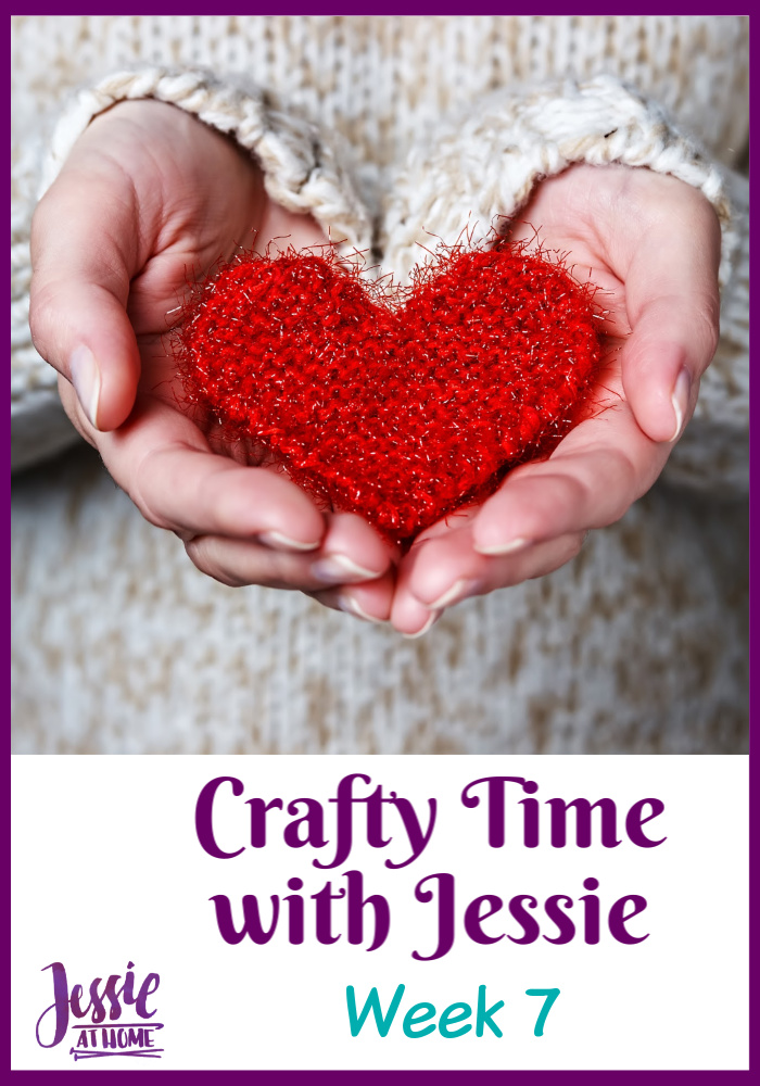 Week 7 Crafty Time with Jessie At Home – Fabric Painting and More