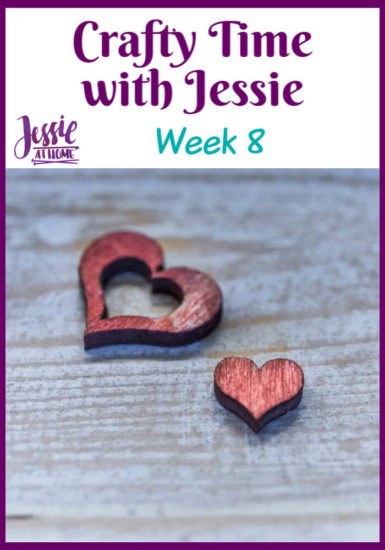 Crafty Time with Jessie At Home Week 8 - Pin 1