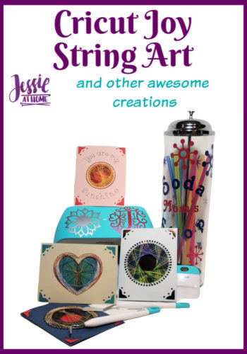Cricut Joy String Art Greeting Cards and other awesome creations by Jessie At Home - Pin 1