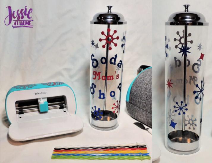 Fabulous Retro Straw Dispenser