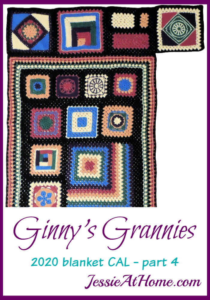 Starting the Outer Granny Section - Ginny\'s Grannies CAL Part 4