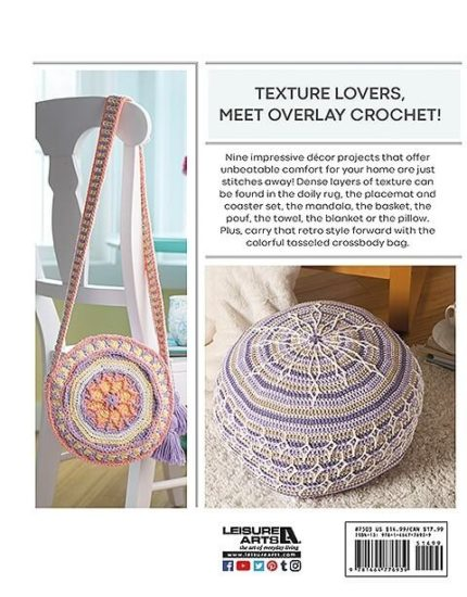 Overlay Crochet Book Review by Jessie At Home - Back