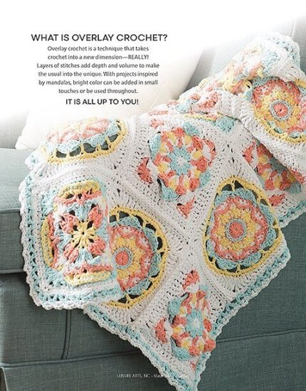 Overlay Crochet Book Review by Jessie At Home - Blanket