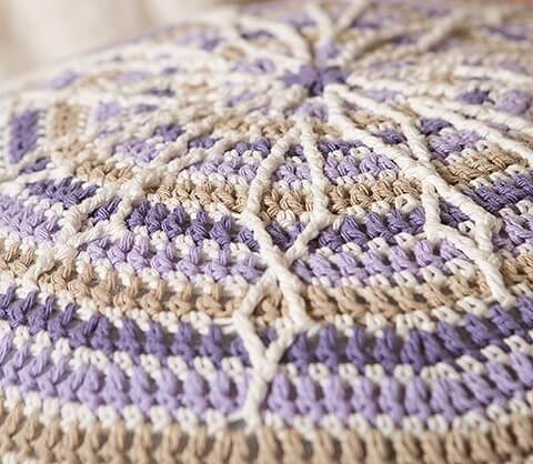 Overlay Crochet Book Review by Jessie At Home - Pouf