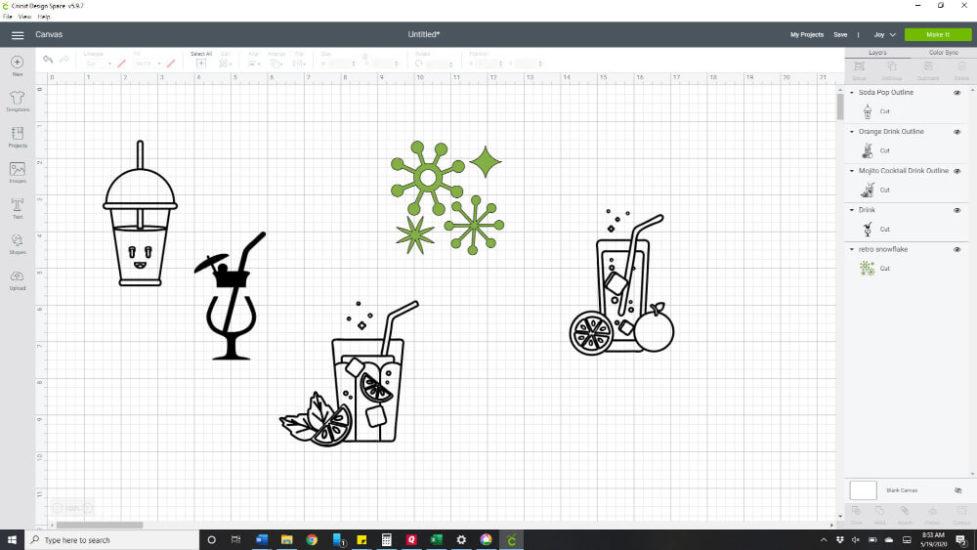 So many ideas - drinks, soda, retro