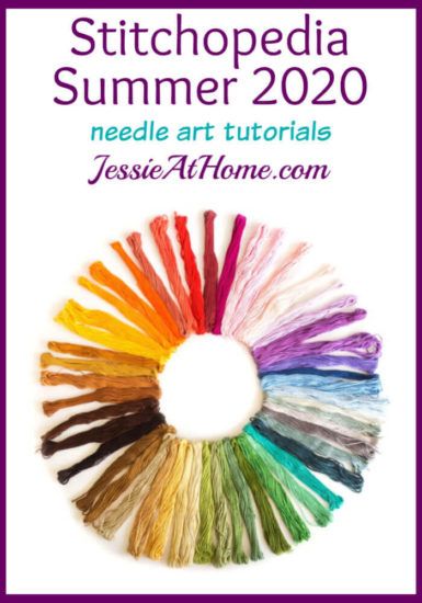 Stitchopedia Summer 2020 needle art tutorials by Jessie At Home - Pin 1