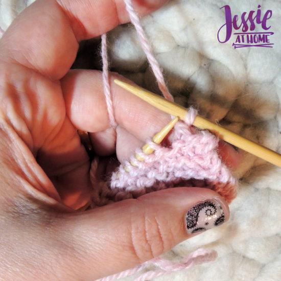 Bind Off Knit Wise Stitchopedia Video & Photo Tutorial by Jessie At Home - 7