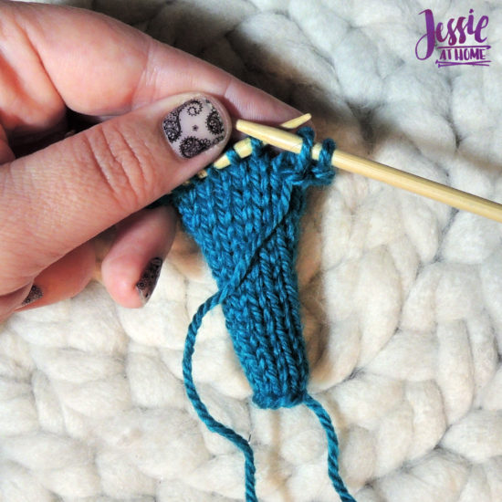 Bind Off Purl Wise Stitchopedia Video & Photo Tutorial by Jessie At Home - 5