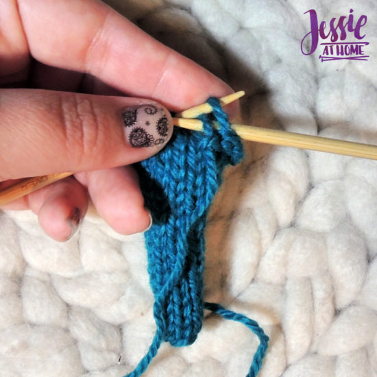 Bind Off Purl Wise Stitchopedia Video & Photo Tutorial by Jessie At Home - 6