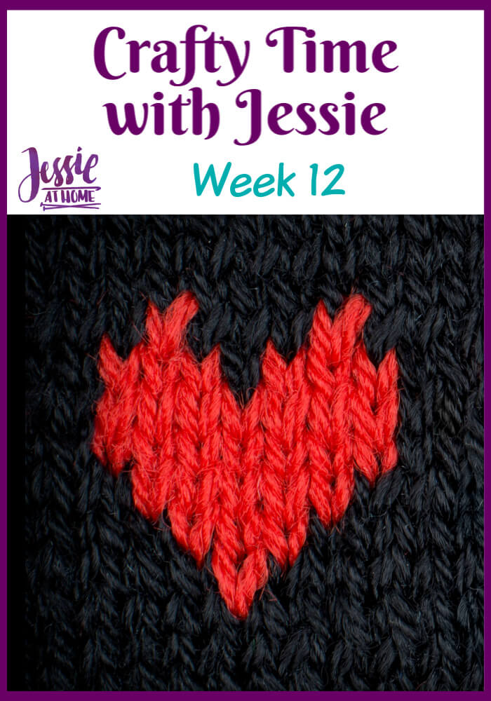 Week 12 Crafty Time with Jessie At Home - Wall Hangings and learning through failure