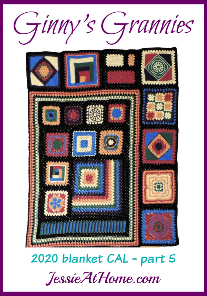 Little Squares, Big Squares, Diamond Squares - Ginny\'s Grannies CAL Part 5