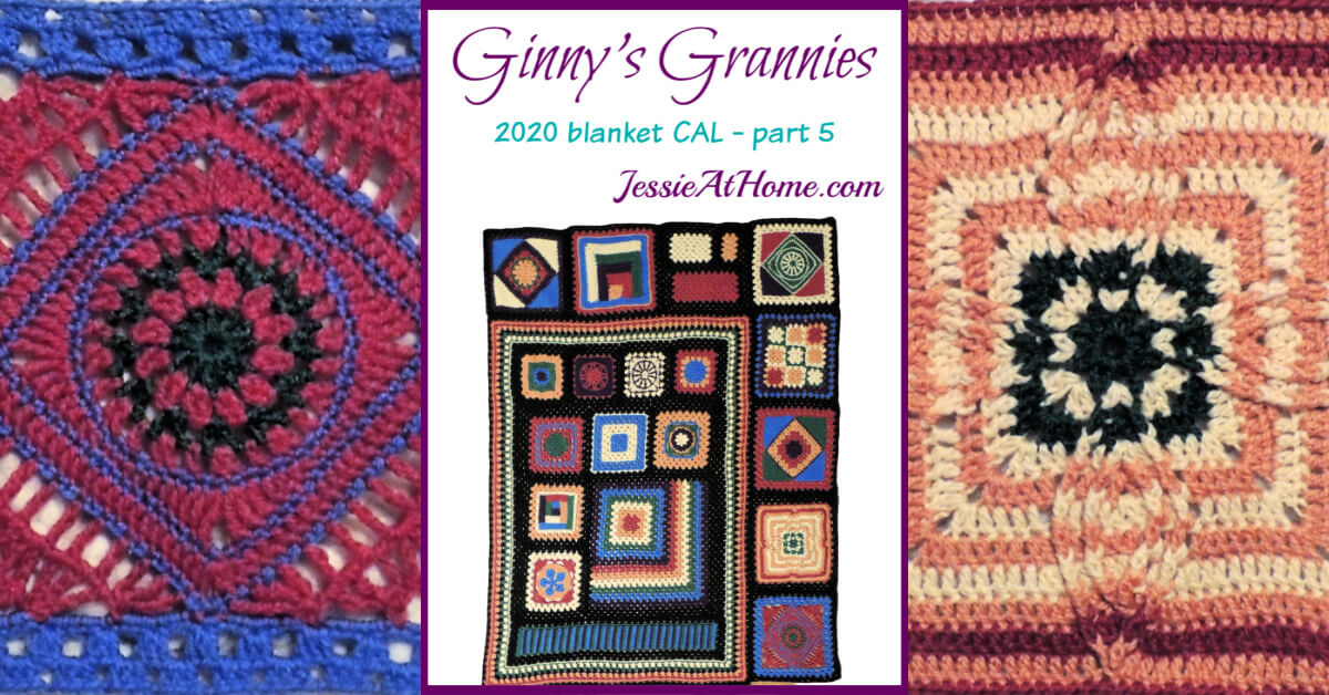 Ginny's Grannies CAL Part 5 by Jessie At Home - Social