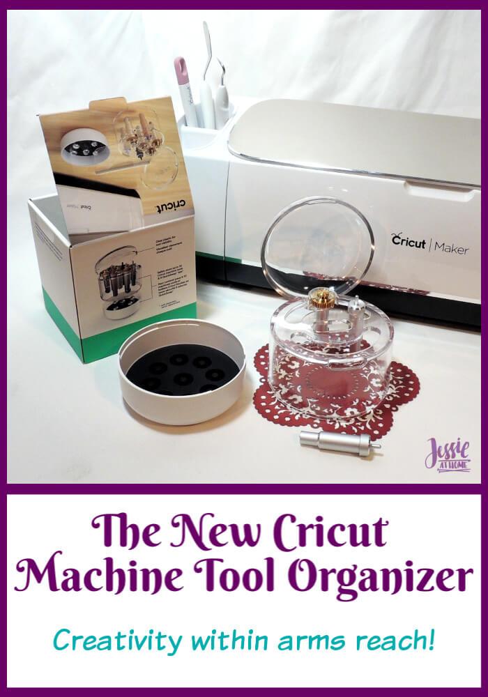 The New Cricut Machine Tool Organizer - no more lost tiny tools
