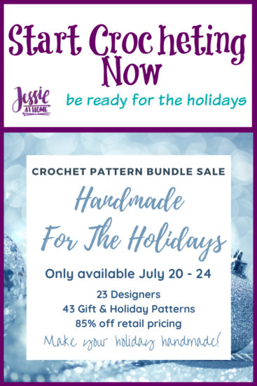 43 Handmade for the Holidays Crochet Patterns