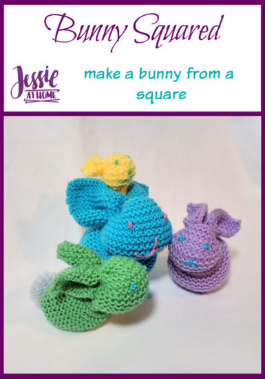 Bunny Squared - stuffed bunny tutorial by Jessie At Home - Pin 1