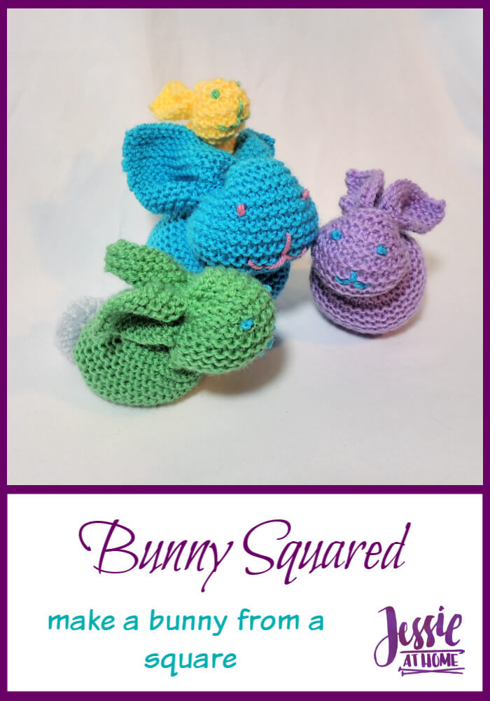 Bunny Squared – make a bunny from a square