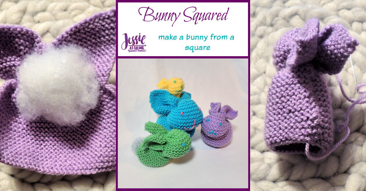 Bunny Squared - stuffed bunny tutorial by Jessie At Home - Social