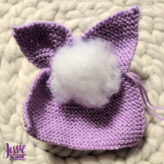 Bunny Squared - stuffed bunny tutorial by Jessie At Home - Stuff and pull thread