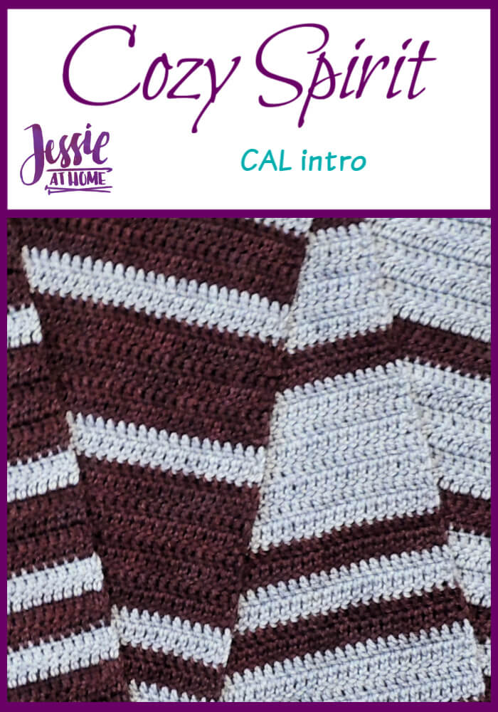 Cozy Spirit CAL crochet pattern by Jessie At Home - Intro Pin 1