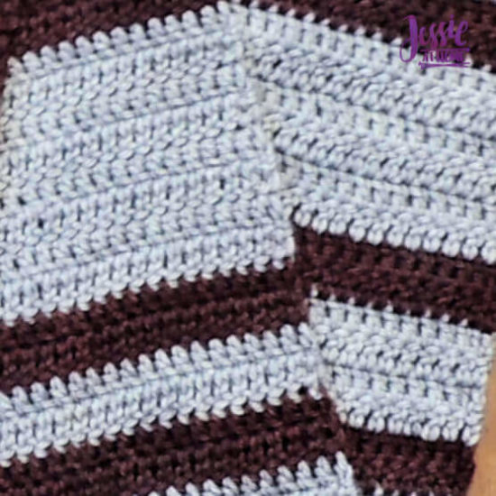 Cozy Spirit CAL crochet pattern by Jessie At Home - Part 1 Done