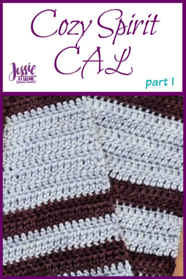 Cozy Spirit CAL crochet pattern by Jessie At Home - Part 1 Pin 1