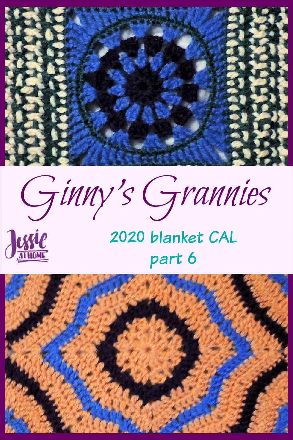 Ginny\'s Grannies CAL Part 6 - so many nifty grannies